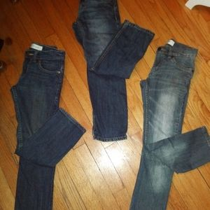 3 Pairs of Levis Kid's Jeans